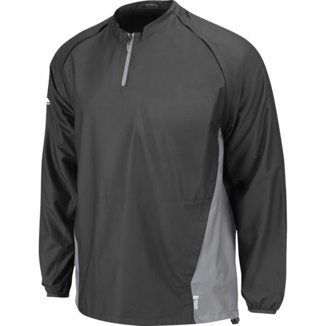 Majestic Adult Cool Base Convertible Gamer Jacket New Gray//Silver
