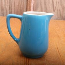 Vintage Hall China Blue Creamer Pitcher