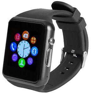 Handy Uhr Mit Sim Karte.Details Zu Enox Swp22 Smartwatch Smartphone Handy Fitness Uhr Sim Karte Bluetooth Schwarz