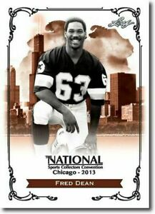 FRED-DEAN-2013-LEAF-NATIONAL-EXCLUSIVE-COLLECTORS-PROMO-CARD