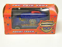 Toy Fair 2002 Robot Truck Matchbox 50th Birthday Party