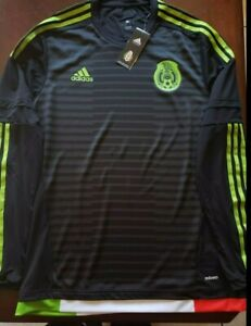 Adidas Mexico Adizero Jersey 8 Large 100 % Authentic Seleccion ...