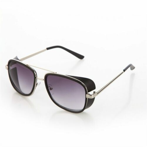 Tortoise Sunglasses IRON MAN 3 Matsuda TONY Steampunk Sunglasses Men Mirrored