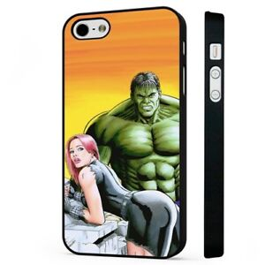 The Hulk Marvel Sexy Girl Marvel Black Phone Case Cover Fits Iphone