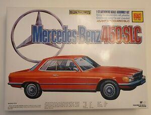 BIG OTAKI MERCEDES BENZ 450 SLC 1/12 MODEL KIT OT3-78 BIG SCALE - VINTAGE