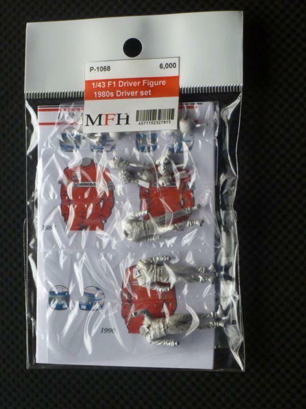 Mfh Model Factory Hiro 1 43 Figura de la Serie 24.4ms Conductores Set P1068 De