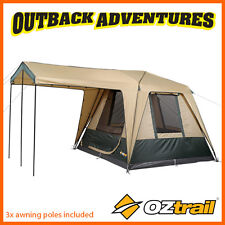 OZTRAIL FAST FRAME CRUISER 300 INSTANT UP QUICK PITCH 6 PERSON TENT  sc 1 st  eBay & Oztrail Fast Frame Cruiser 420 Cabin 8 Person Family Tent | eBay