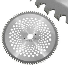 HOT 10'' 80T Teeth Carbide Tip Brush Cutter Trimmer Weed-eater Replacement Blade