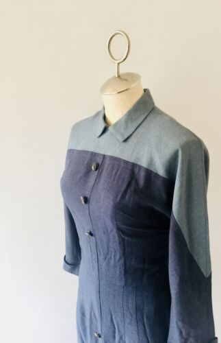 VTG 40's-50's Wiggle Dress by Smart Tall Clothes C