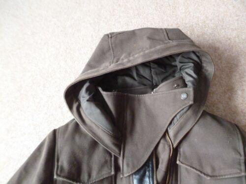 finiture 8 S con di in marrone La pelle Kooples giacca 10 gXznnZ7