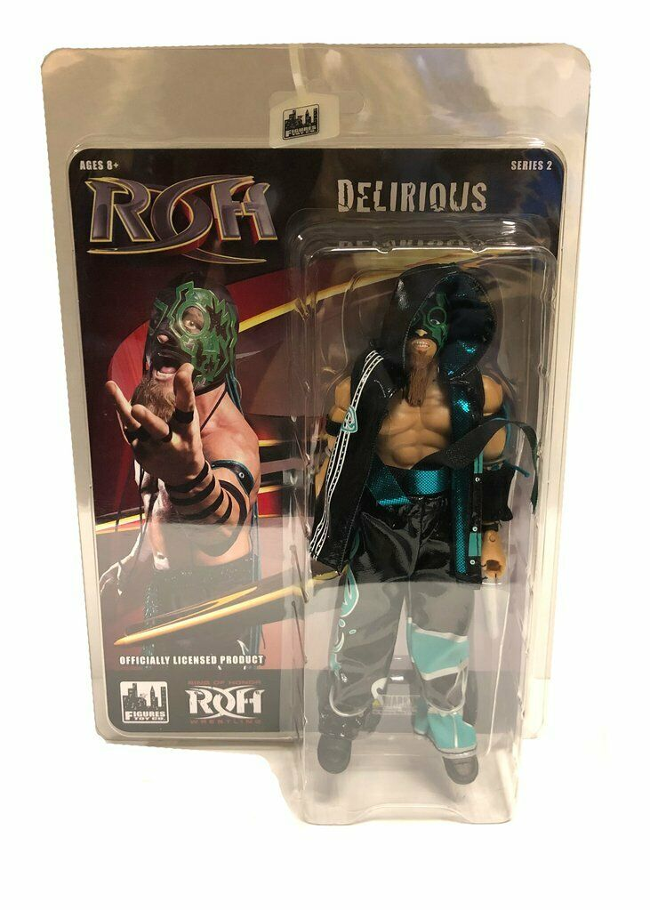 Official ROH - Ring Of Honor serie 2   Delirious Wirkung Figure