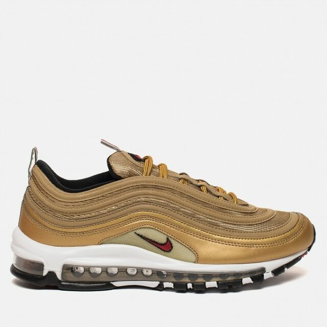 515f8e05d52 2018 Nike Air Max 97 Metallic Gold OG Retro Italy IT Size 10.