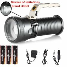 1800 Lumen Cree LED HIGH OUTPUT Rechargeable Floodlight To Spotlight Zoomable