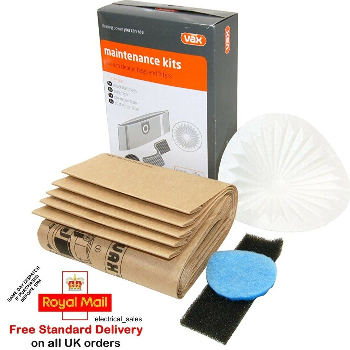 20 x Dust Bags for VAX Vacuum Cleaner Hoover 121 2000 4000 6000 7000 series