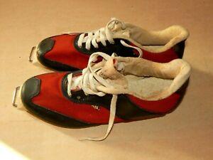Détails sur Chaussures de Ski Fonds Vintage SALOMON An 70 G 25 Made in France