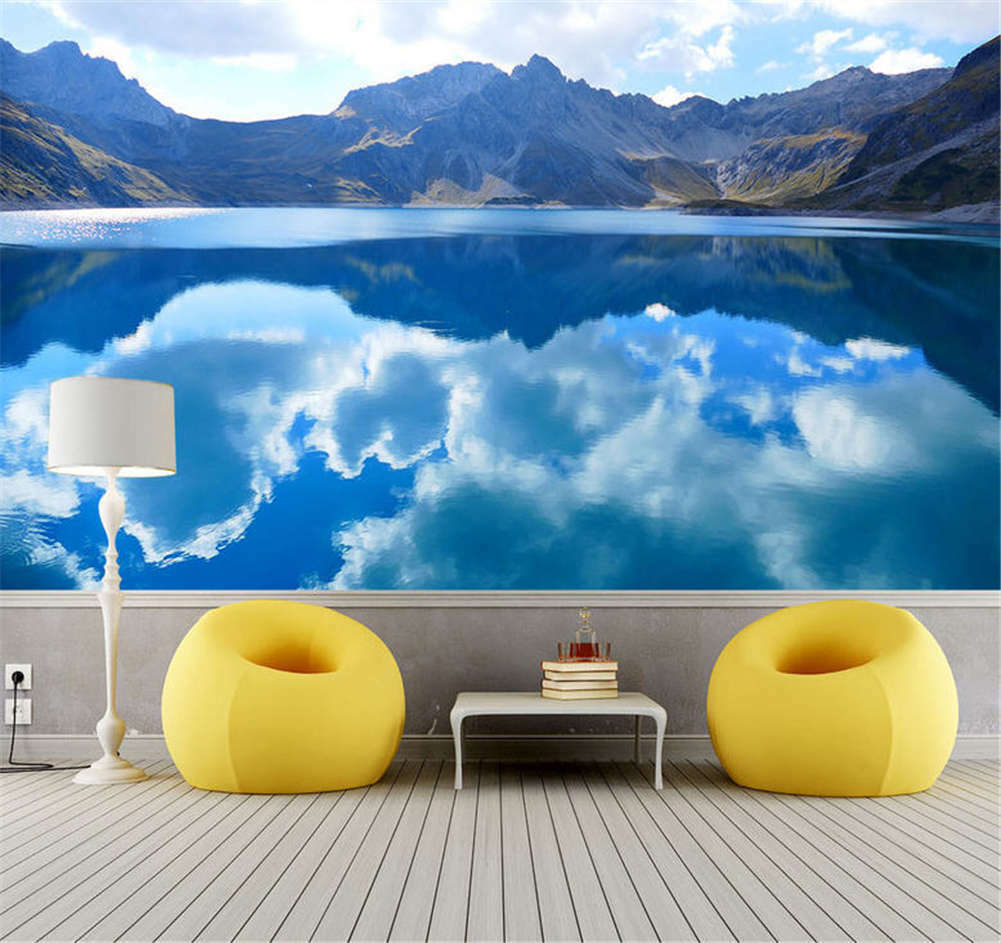 Clarified Deep Lake 3D Full Wall Mural Photo Wallpaper Printing Home Kids Decor
