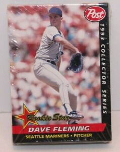 Details About Vintage 1993 Post Collectors Series Baseball Card Set Factory Sealed