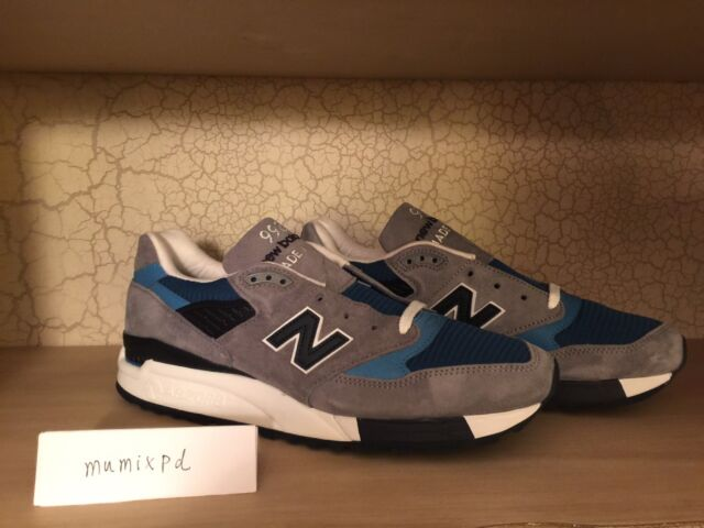 New Balance fieg 998 moby dick M998MD Blue white J. Crew concepts USA Kith sz 11
