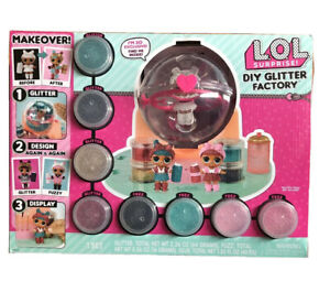 Brand-NEW-LOL-Surprise-DIY-Glitter-Factory-EXCLUSIVE-DOLL-Makeover-Spa-Set