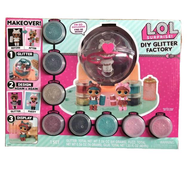 LOL Surprise DIY Glitter Factory.