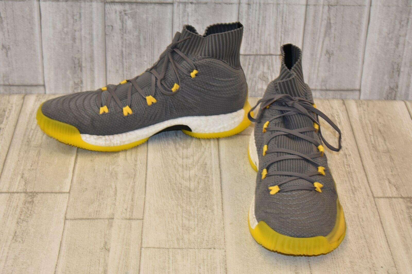 best sneakers 7cb1b e4379 ... canada adidas crazy explosive primeknit basketball shoes shoes  basketball uomo size 13 gray yellow c484b4 15bbe