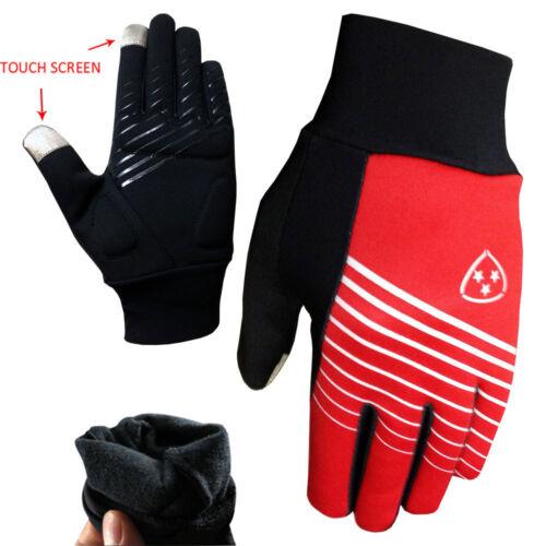 Radfahren Laufen Handschuhe Leicht Außen Thermo Touch Screen Fahrradhandschuhe