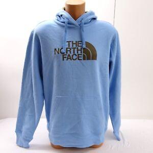 b6dd763fe The North Face Mens Half Dome Logo Light Blue/Olive Green Pullover ...