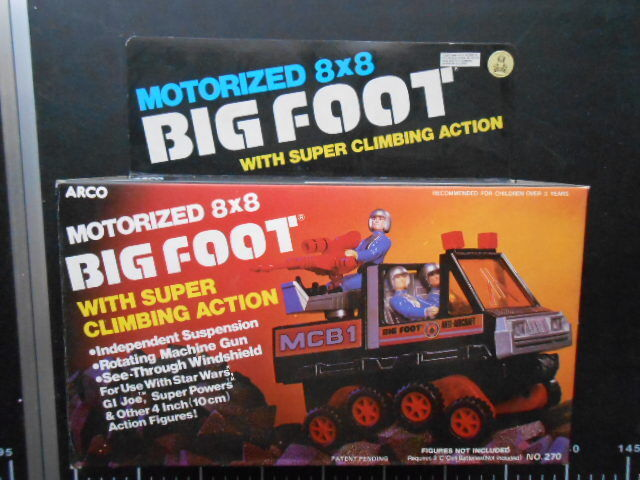 Arco MOTORIZED 8X8 BIG FOOT Anti-Aircraft WITH SUPER CLIMBING CLIMBING CLIMBING ACTION 98782c
