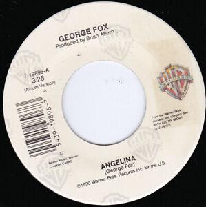 """GEORGE FOX - Angelina 7"""" 45"""