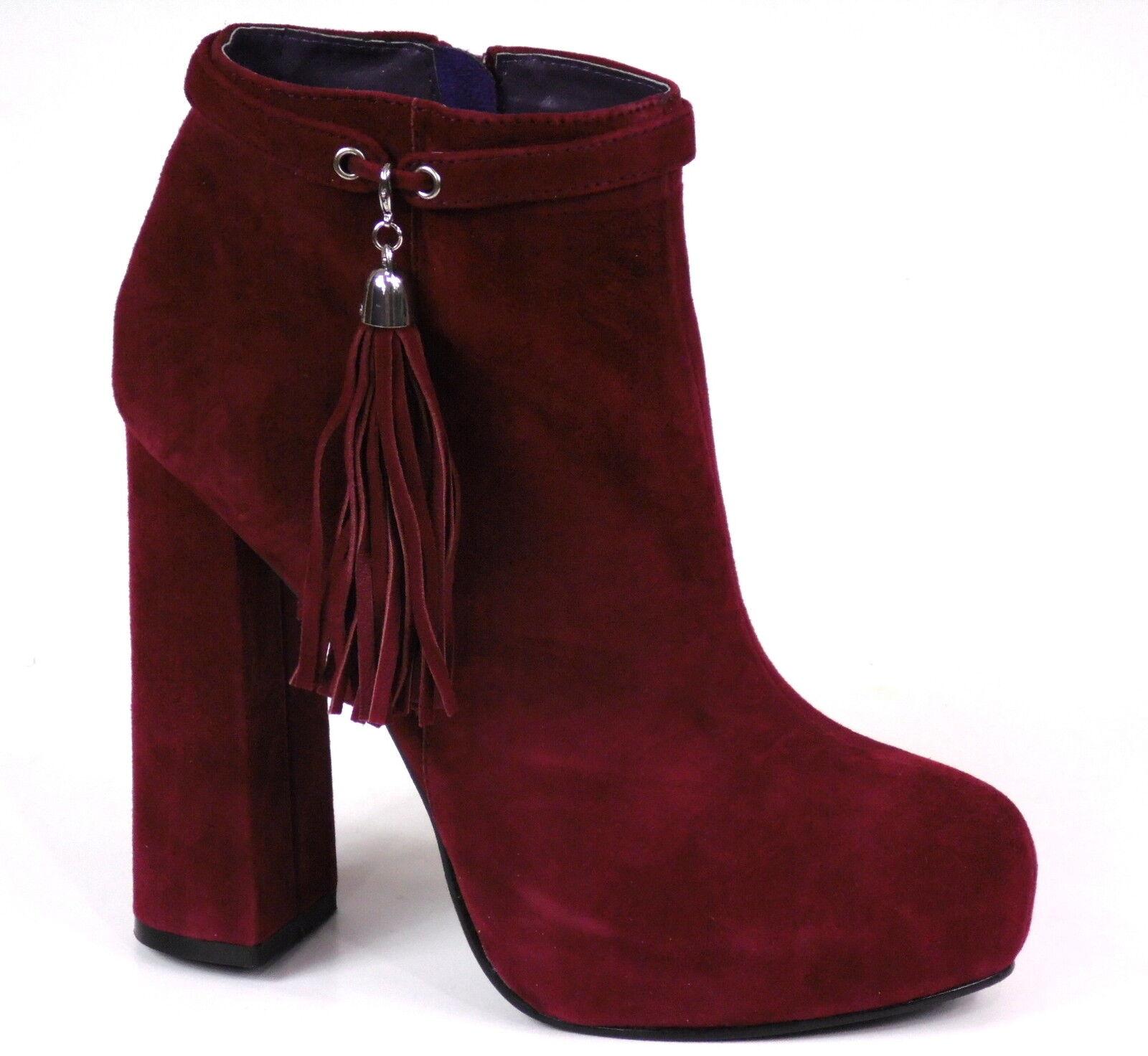 Nuevo Nuevo Nuevo apart botín PVP _  cuero talla 36 hasta 41 señora botas botines rojo  Sin impuestos