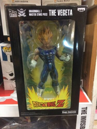 Master Stars Piece The Vegeta Figure  Rare manga dimensions