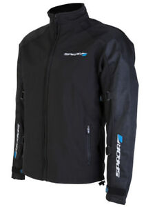 Spada-Razor-Motorcycle-Jacket-Soft-Shell-Black-SIZE-SMALL