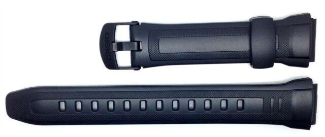 Genuine Casio Replacement Watch Strap Band 10300101 for Casio Watch W-212H-1AV