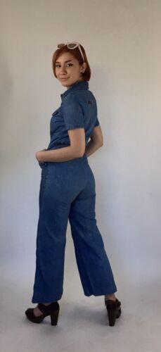 True Vintage 70s Landlubber denim jumpsuit Size 7