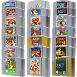 Nintendo-64-jeux-n64-Mario-Kart-Smash-Pokemon-Banjo-Donkey-Zelda