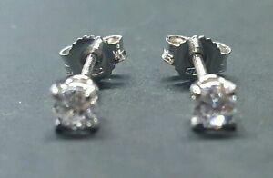 Orecchini-Punto-Luce-in-oro-18-Kt-e-diamanti-naturali-ct-0-30-PREZZO-IMBATTIBILE