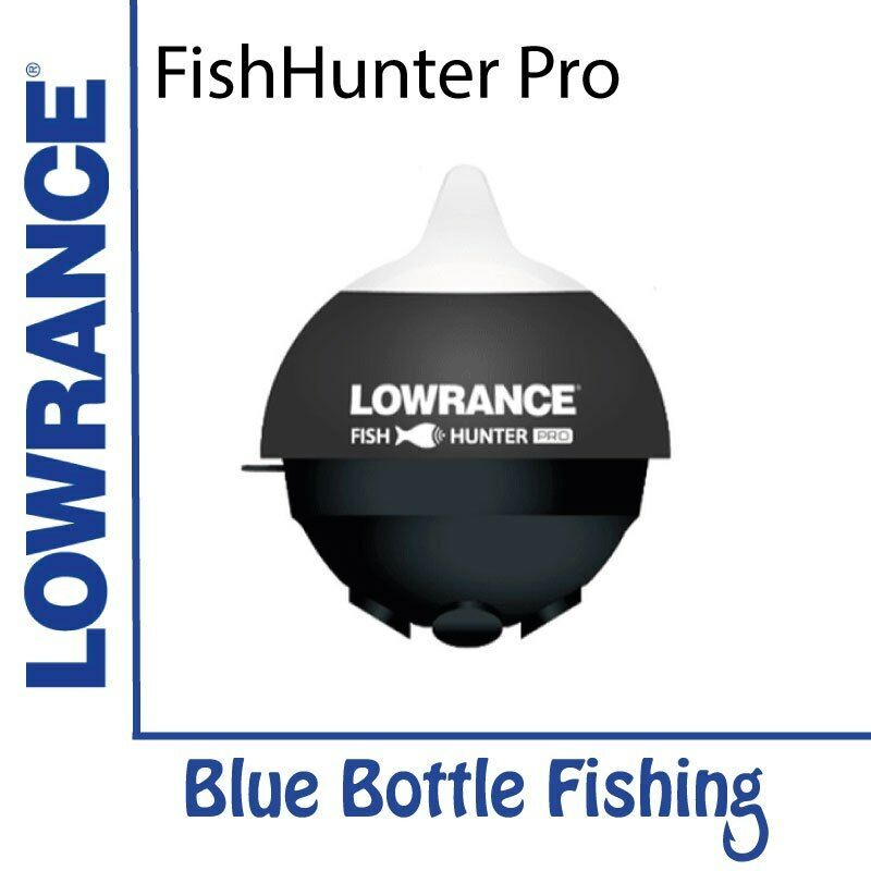NEW Lowrance FishHunter Pro from Blau Bottle Marine