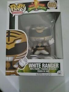 Funko POP Power Rangers White Ranger 405 vaulted