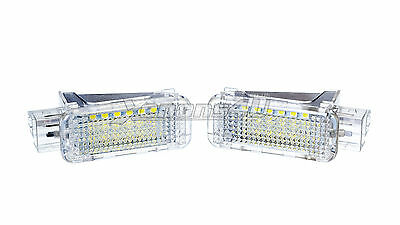VW 18 LED Interior Trunk Under Doors Courtesy Lamps Light Canbus Xenon White