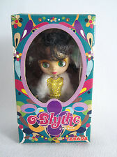 Takara Hasbro 2003 Petite Blythe PBL015 ST 02 All Gold Dress Green Eyes - New