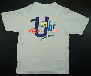 d064be23b0 Image is loading Rare-Vintage-UMBRO-International-Spell-Out-2-Sided-