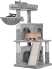 Multi-Level Cat Tree Condo Furniture With Sisal Covered Scratching Posts For Kit