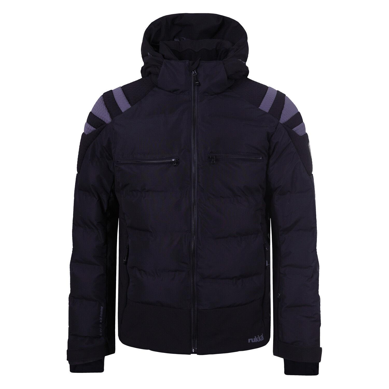 Rukka Brady - Herren Skijacke Snowboard Jacke Winterjacke 272610263R-990 schwarz