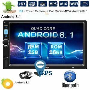 Universal-Android-8-1-Autoradio-GPS-Navi-2DIN-WiFi-USB-RDS-Bluetooth-Mirror-link