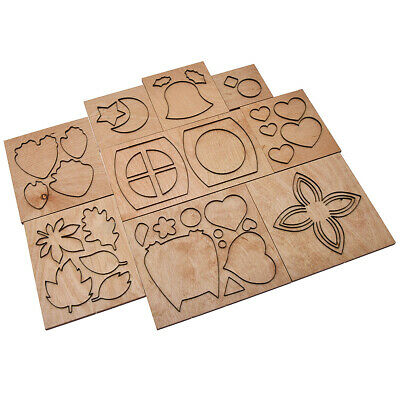 Wooden Leather Cutting Dies Template Punch Blade Cutter Leather Mold Tool Mould