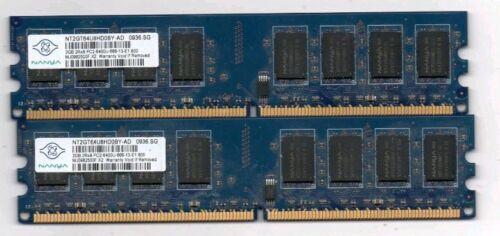 Brand 8GB 4X2GB DDR2 2RX8 PC2-6400U 800MHz 240PIN DIMM Intel RAM Desktop Tested