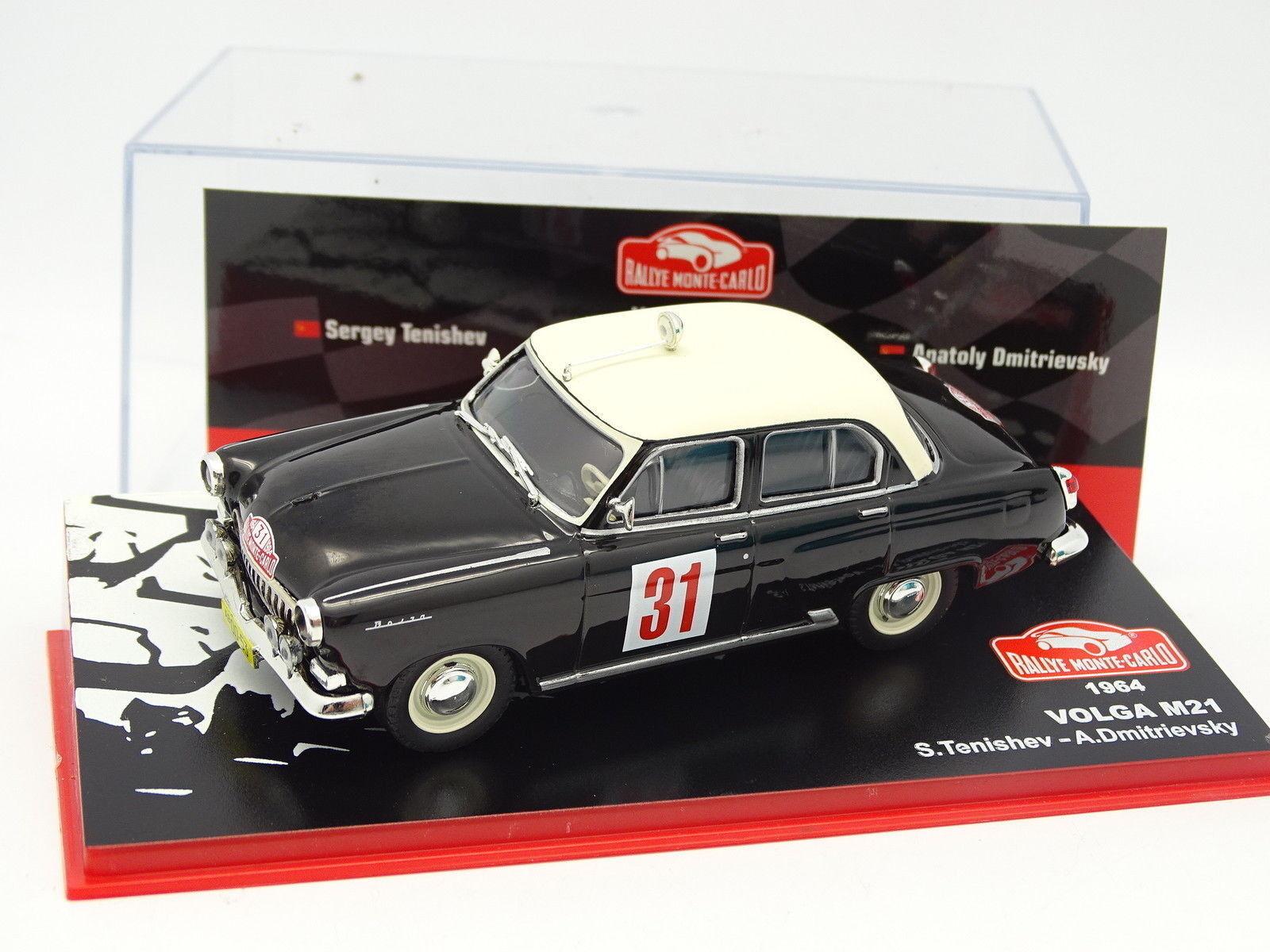 Prensa Ixo Rallye Monte Carlo 1 43 - - - Volga M21 1964 f33691