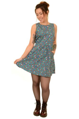 Ladybird Ladies Line Kitsch Fly Retro Run Dress Daisy A TTHaqxBI1