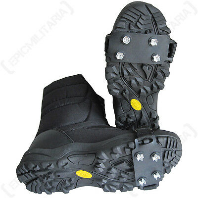 Apretones de hielo de Invierno-Botas De Nieve Zapatos Caminar Senderismo Esquí Al aire libre de supervivencia NUEVO