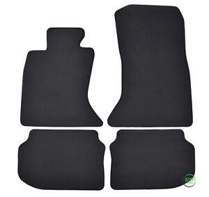 AuCo Velours Fußmatten Textil Passform passend für BMW 5er F10 F11 Touring